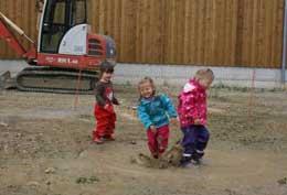 Bauernhof-Kinderspielgruppe