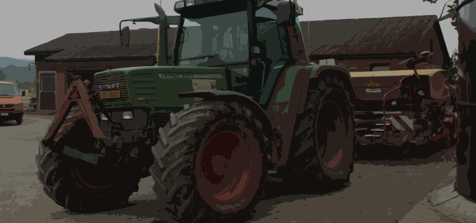 Bodenschonender Ackerbau - Lohnlandwirtschaft